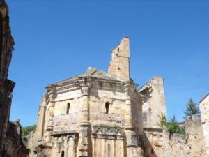 chevet roman abbaye d'alet les bains
