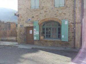 ouverture du point accueil de l'Abbaye d'Alet Les Bains