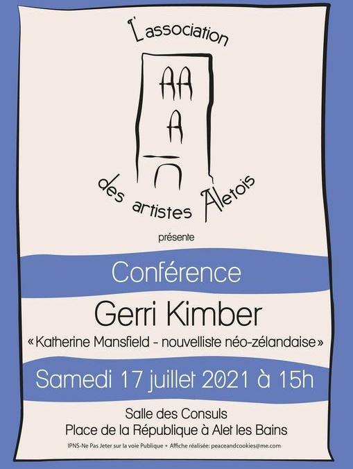 conférence du 17 juillet