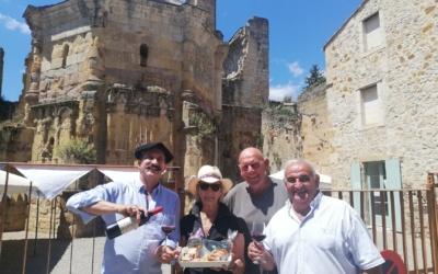 Présentation de la cuvée spéciale Nostradamus et du gâteau le»Nostradamus»